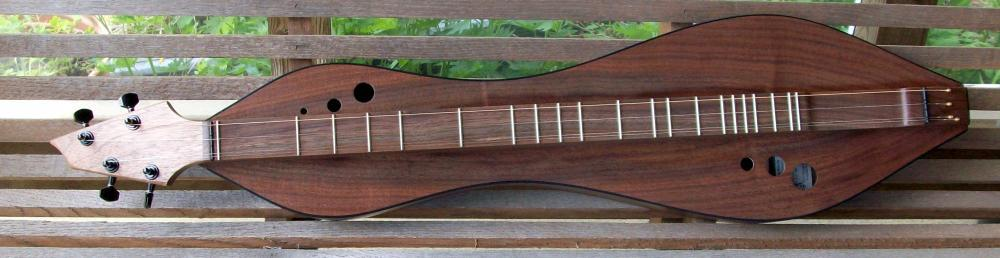 Dulcimer By Doug Berch #116 - top