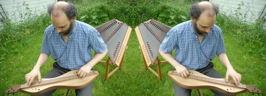 symettrical dulcimer playing