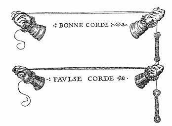 string from Harmonie Universelle by Mersene