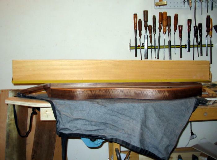 Remarkably scary fretboard sanding block