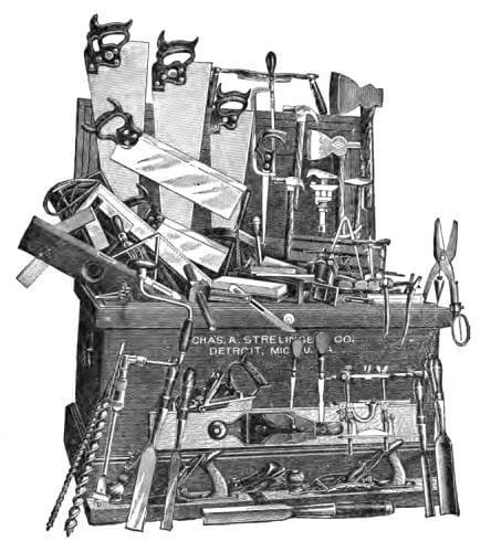 overflowing toolbox