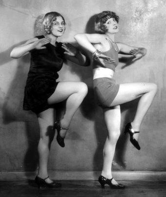 Zelda and Fifi dance with joy awaiting three new dulcimers!!