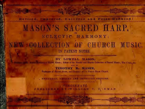 Mason's Sacred Harp