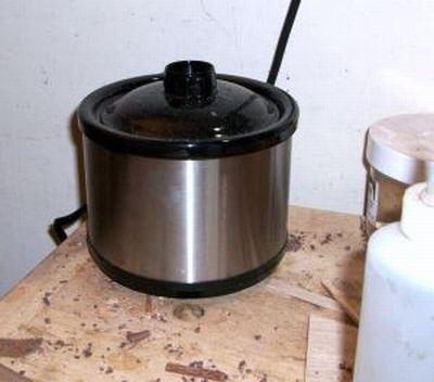 My new cool & groovy $5 glue pot!