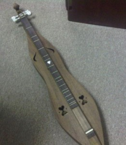 A dulcimer I sort of remember having made