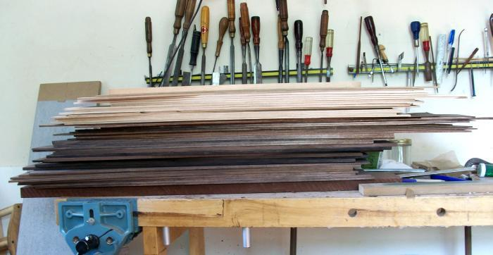 Wood resawn and patiently waiting to become the next batch of dulcimers