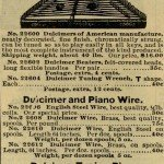 Hammered Dulcimer For Only 16.00 Circa 1898 150x150 A New Musical Grammar; or, The Harmonical Spectator (1746)