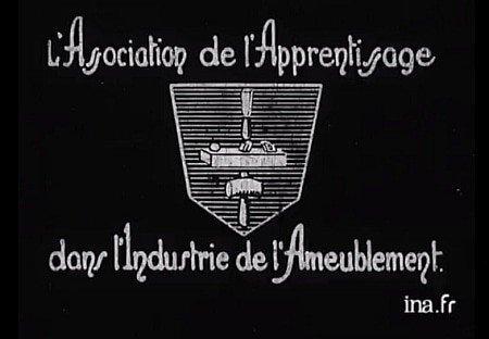 L'ÉBÉNISTERIE - A Silent Film About Woodworking (1932)