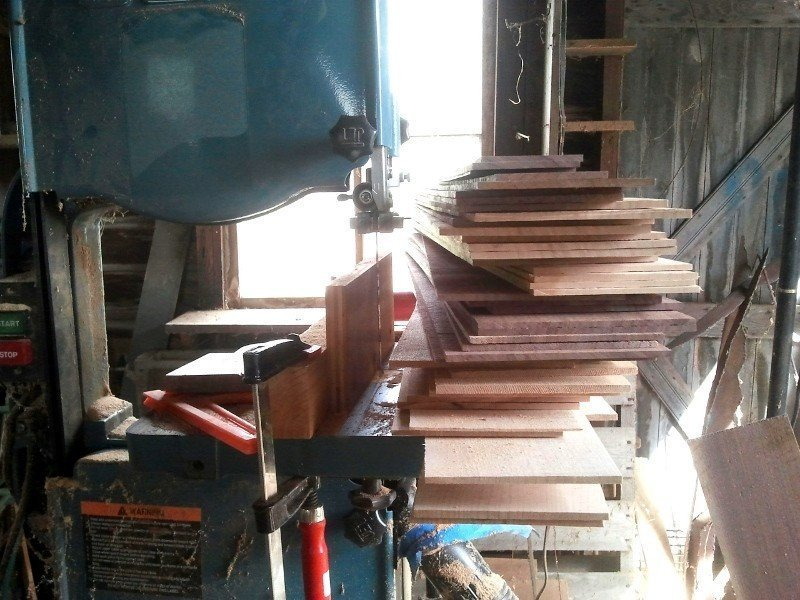 Still life with bandsaw.