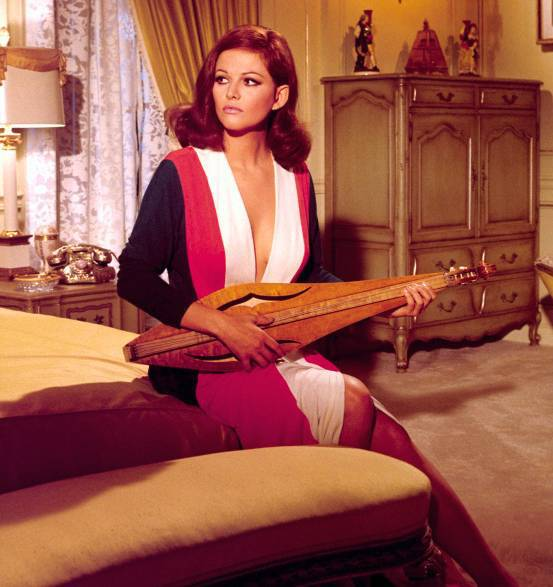 Claudia Cardinale With A Dulcimer Claudia Cardinale With A Dulcimer?