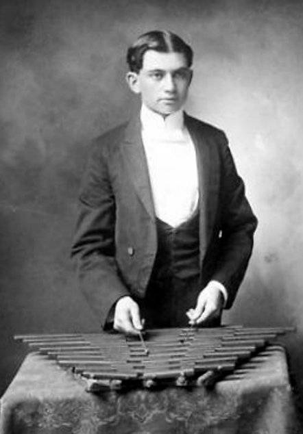 A Xylophone Or Metallophone Reminiscent Of A Hammered Dulcimer