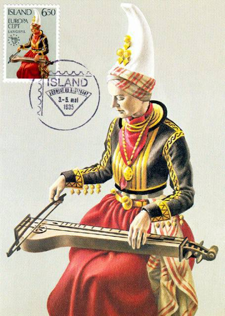 A relative of the dulcimer from Iceland - The Langspil