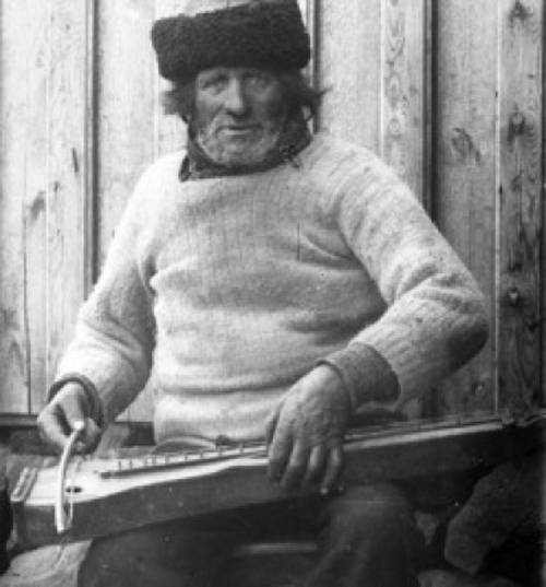 Langspil player Dulcimer Relatives   The Langspil
