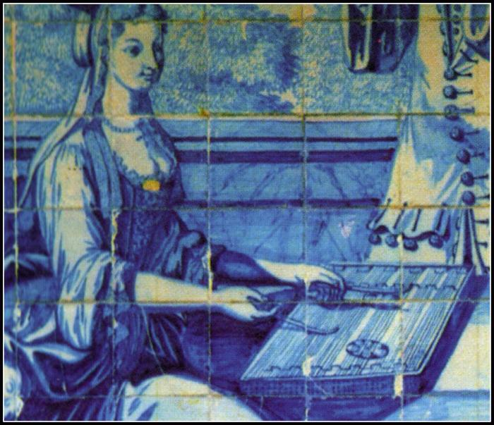 Damsel With A Dulcimer