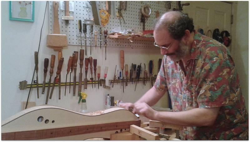 Doug Berch - Dulcimer Builder and Fashionista