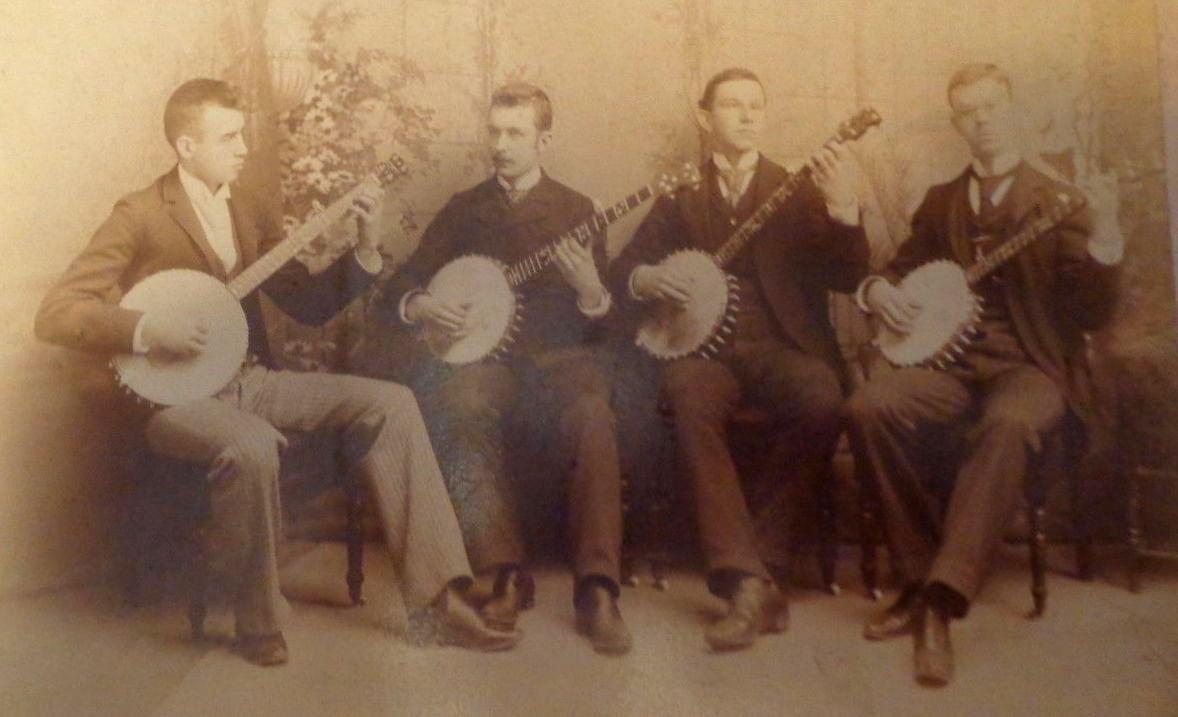 5 string banjo quartet