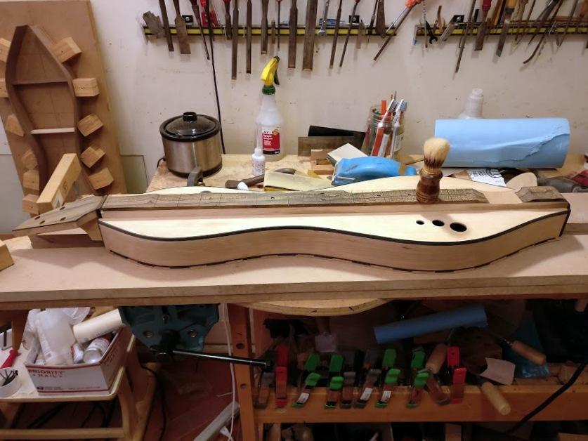 Sanding dulcimers. The fun never ends.