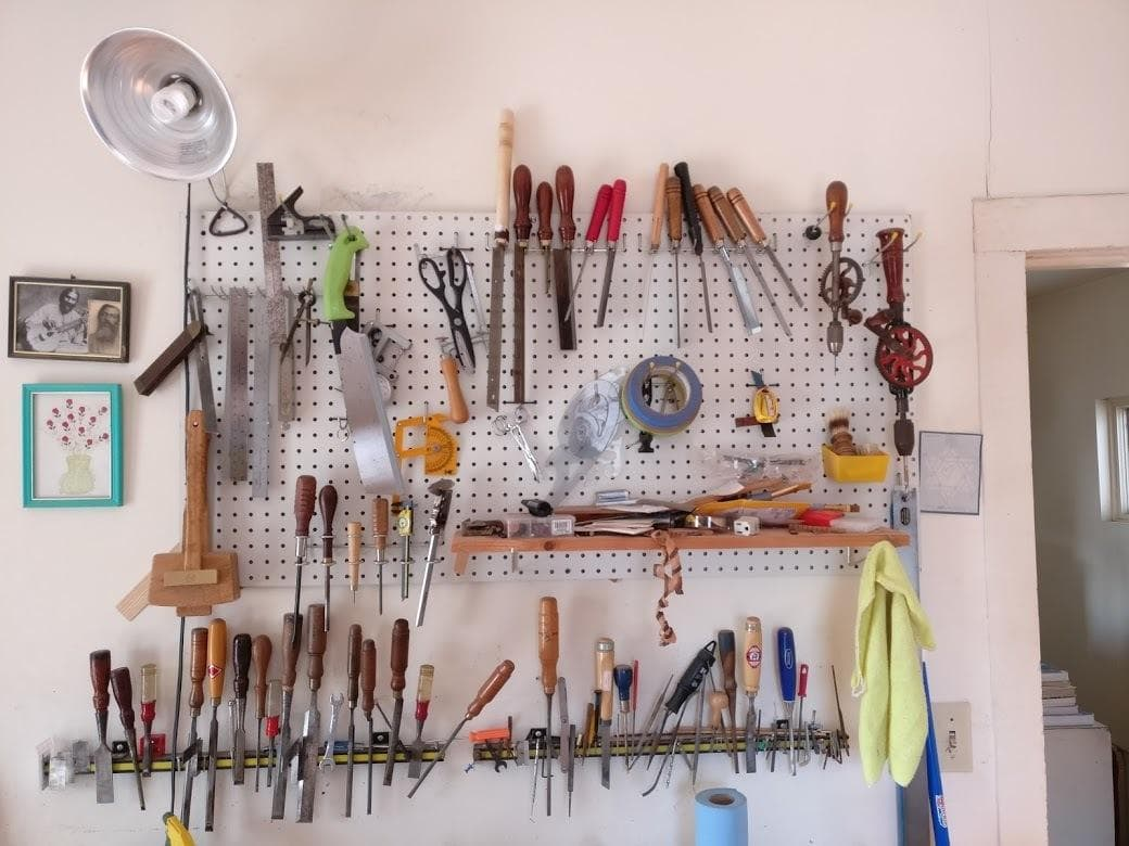 Finding Happiness In A Small And Cluttered Workshop
