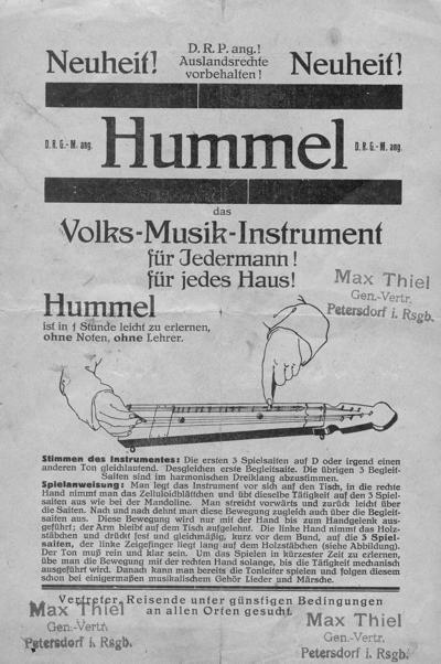 Hummel Instruction Book